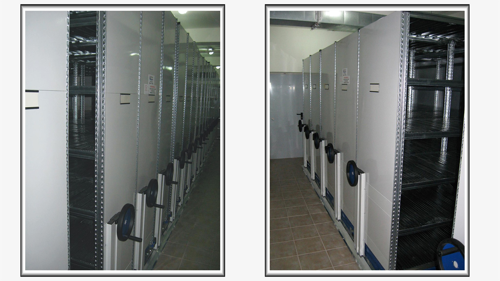 Metalni arhivski prevozni ormani Super 123 mobile