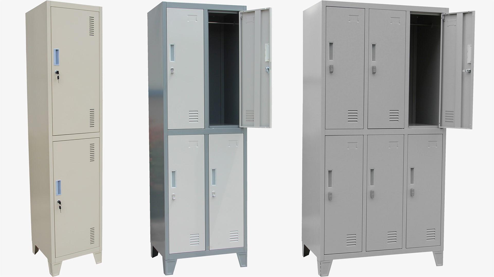 Kasetni garderobni ormani sa 2, 4 i 6 kabina