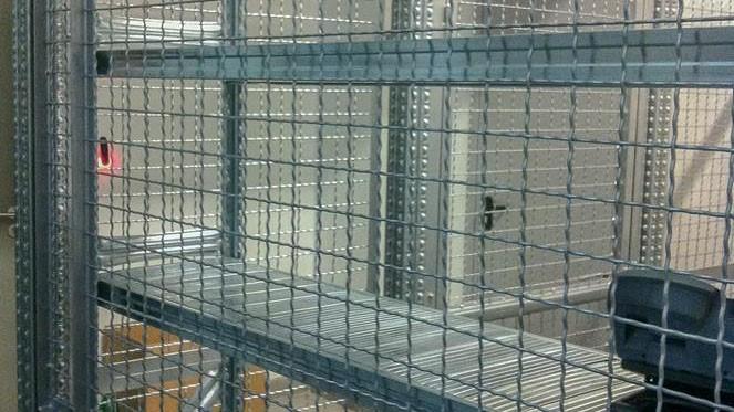 Žičana ograda - dodatak za metalne police