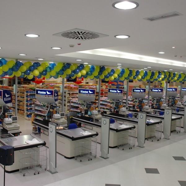 Kasa-pultovi u trgovini