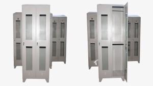 Garderobni ormani po HACCP standardu sa staklenim vratima