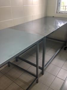 Metalni stolovi za pregled životinja