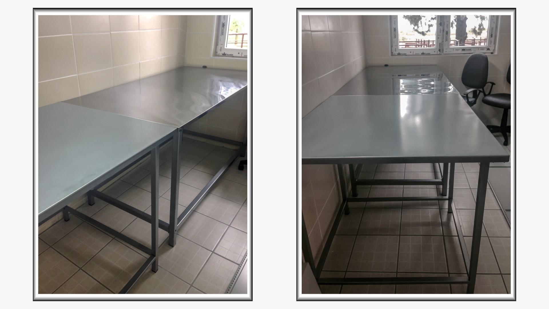Metalni stolovi za pregled zivotinja