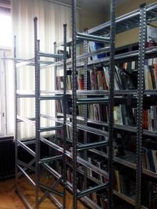 Arhivske police u Muzeju žrtava genocida