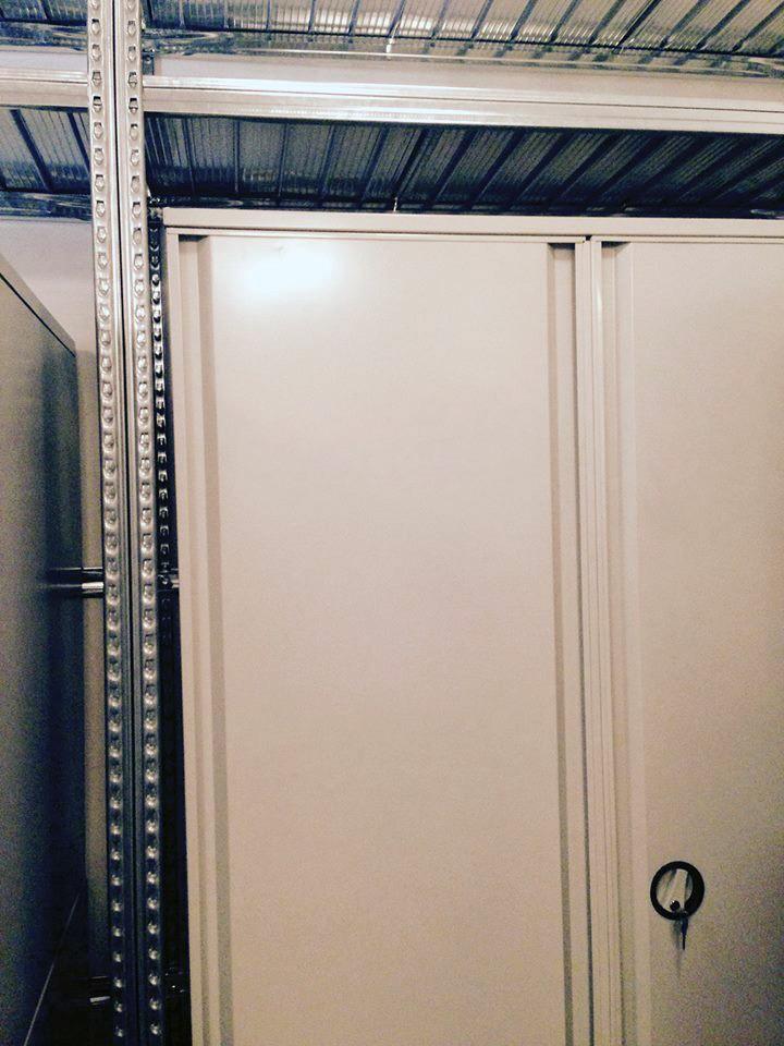 Metalna polica Super 1/2/3 i orman za eksopnate za Muzej Primenjene Umetnosti u Beogradu