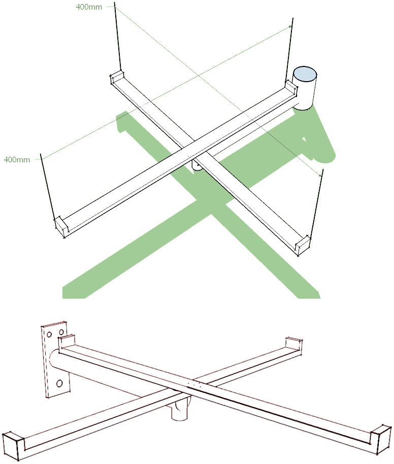 Nosač stolice zidni
