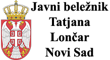 Javni beležnik Tatjana Lončar logo